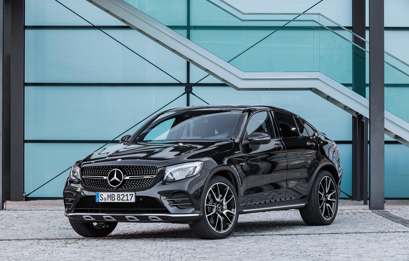 Photo wallpaper Mercedes, AMG, GLC 43 Coupe