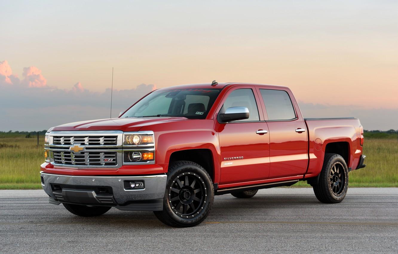 Photo wallpaper Chevrolet, Chevrolet, Hennessey, Silverado, 2014, HPE550, silverado