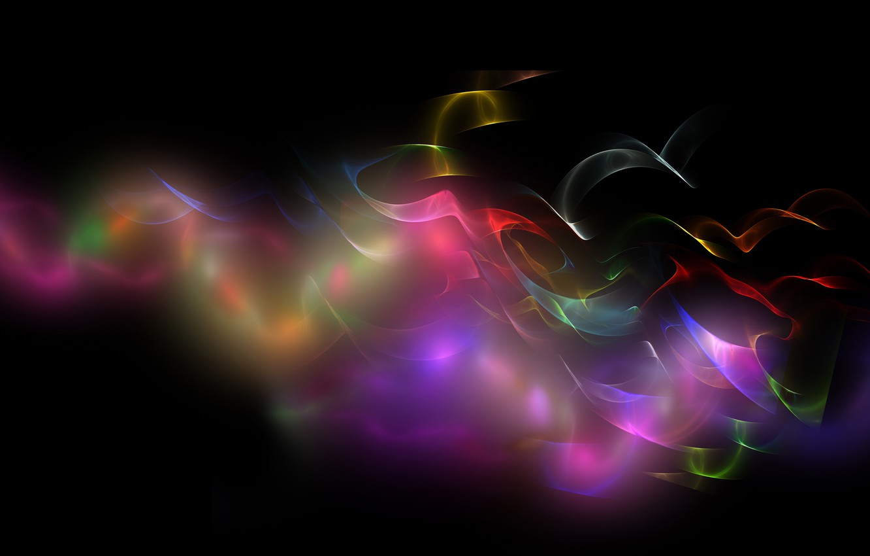 Photo wallpaper transparency, line, curls, curves, brightness