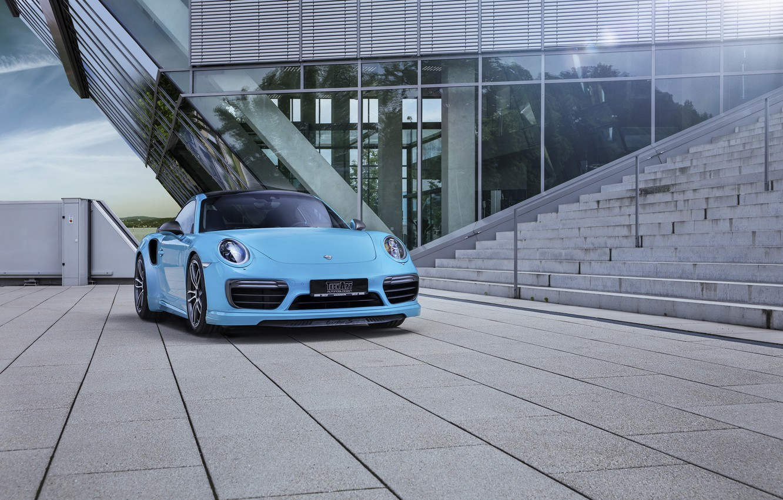Photo wallpaper coupe, 911, Porsche, Porsche, Coupe, Turbo, turbo, TechArt
