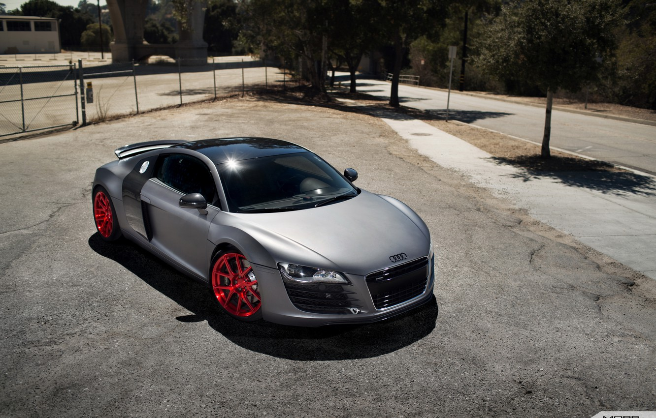 Photo wallpaper Audi, Forged, Competition, Mono, VS52, DAY Motorsports, R8