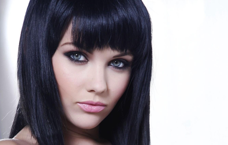 Photo wallpaper model, brunette, Mellisa Clarke, look.girl