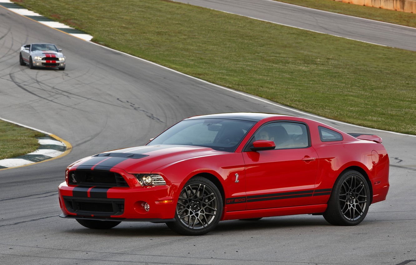 Photo wallpaper Mustang, Ford, Shelby, GT500, Mustang, Ford, Shelby, SVT, 2014