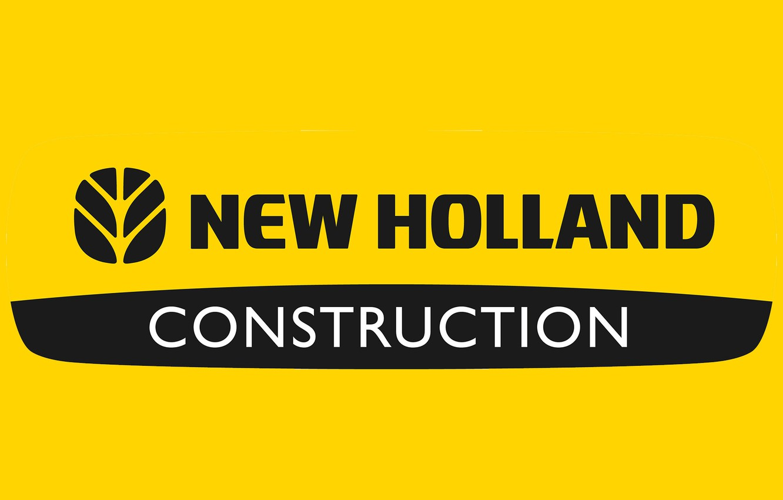 Photo wallpaper logo, construction, farming, newholland