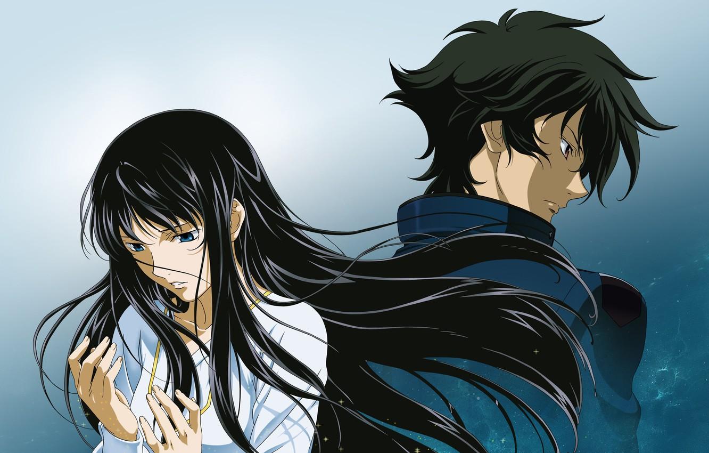 Wallpaper Girl Anime Art Guy Mobile Suit Gundam Images For