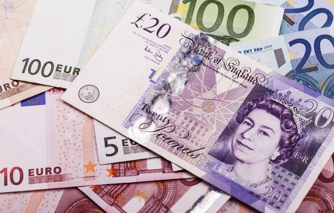 Photo wallpaper money, paper, currency, EURO