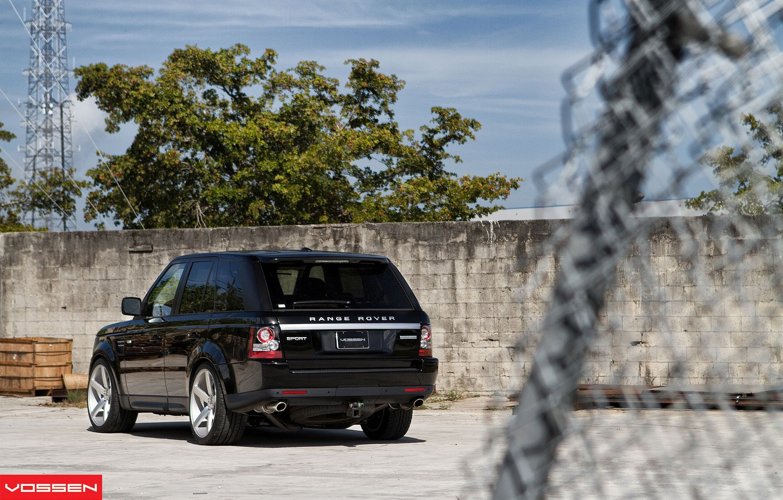 Photo wallpaper car, Sport, Machine, Land Rover, SUV, vossen, Sport, Cars, Land, Rover, back, Land Rover, Range …