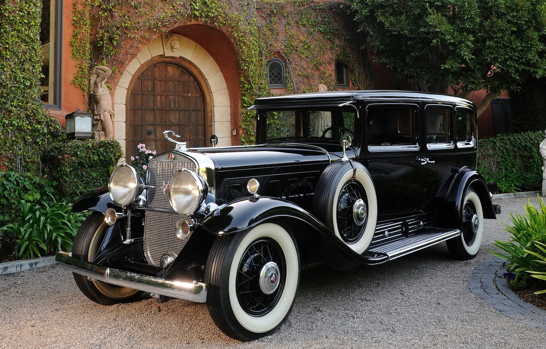 Photo wallpaper Cadillac, Car, V12, 1931, Luxury, Five, Phaeton, Passenger