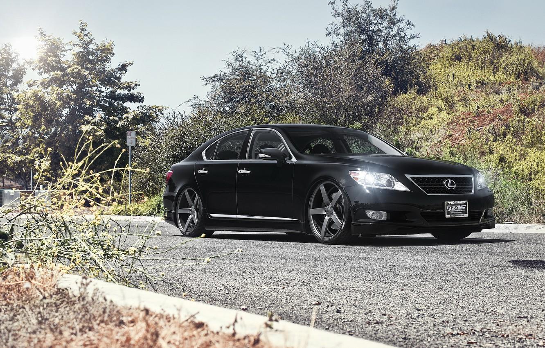 Photo wallpaper tuning, sedan, Lexus, lexus ls