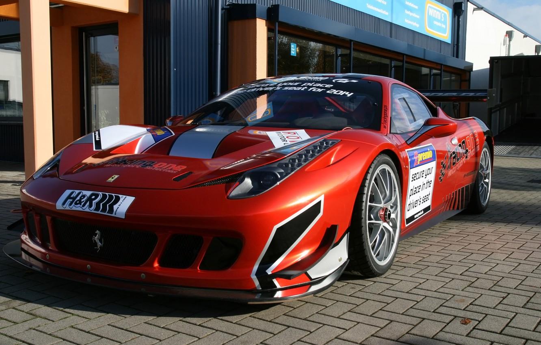 Photo wallpaper Ferrari, 458, Racing
