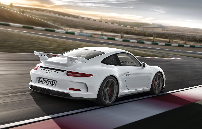 Photo wallpaper speed, track, 911, Porsche, car, GT3