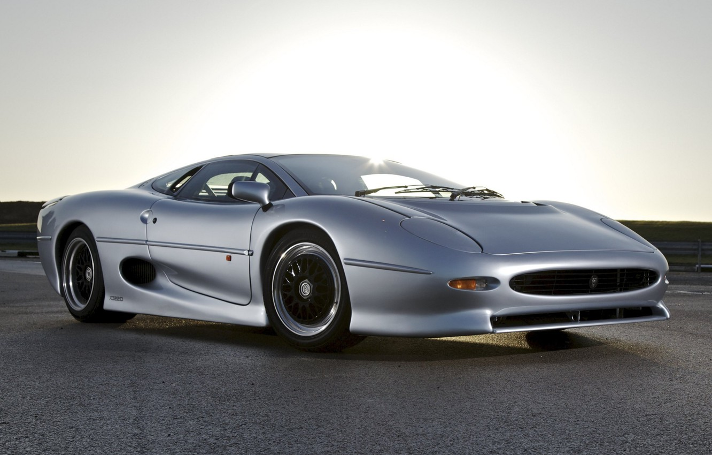 Photo wallpaper jaguar, tuning, race, classic, xj220