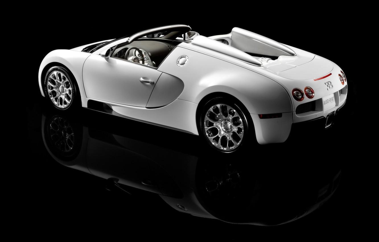 Photo wallpaper Bugatti, veyron, roadster