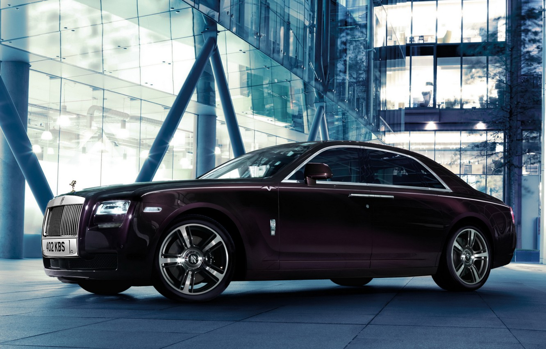 Photo wallpaper car, Rolls Royce, Ghost