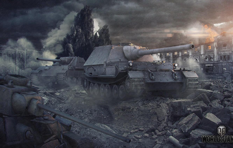Photo wallpaper war, home, tank, tanks, world of tanks, t-34, panther, wot, ferdinand, Ferdinand, jg panther II