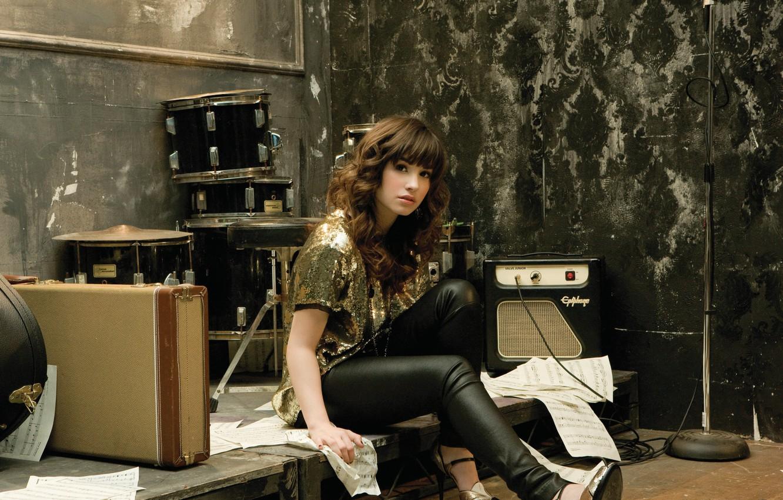 Photo wallpaper music, singer, demi lovato