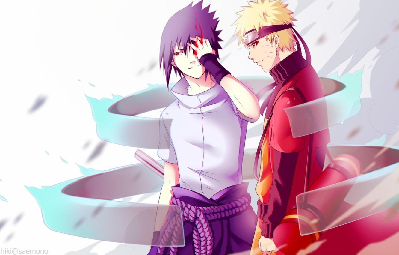 Photo wallpaper Anime, Art, Naruto, Naruto, Naruto Uzumaki, Susanoo, susanoo, Sasuke uchiha
