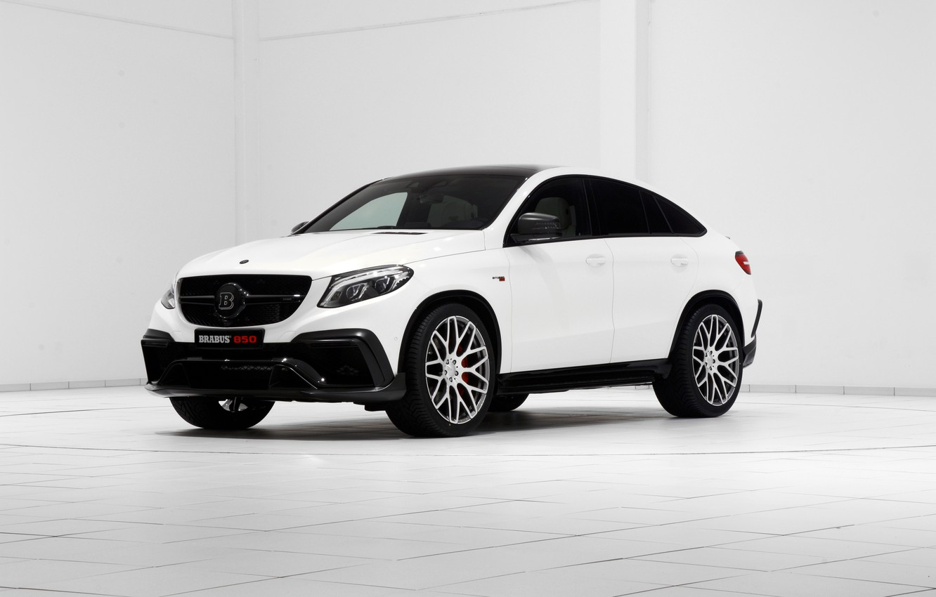 Photo wallpaper Mercedes-Benz, Brabus, Mercedes, AMG, Coupe, AMG, 2015, C292, GLE-Class, Bacchus