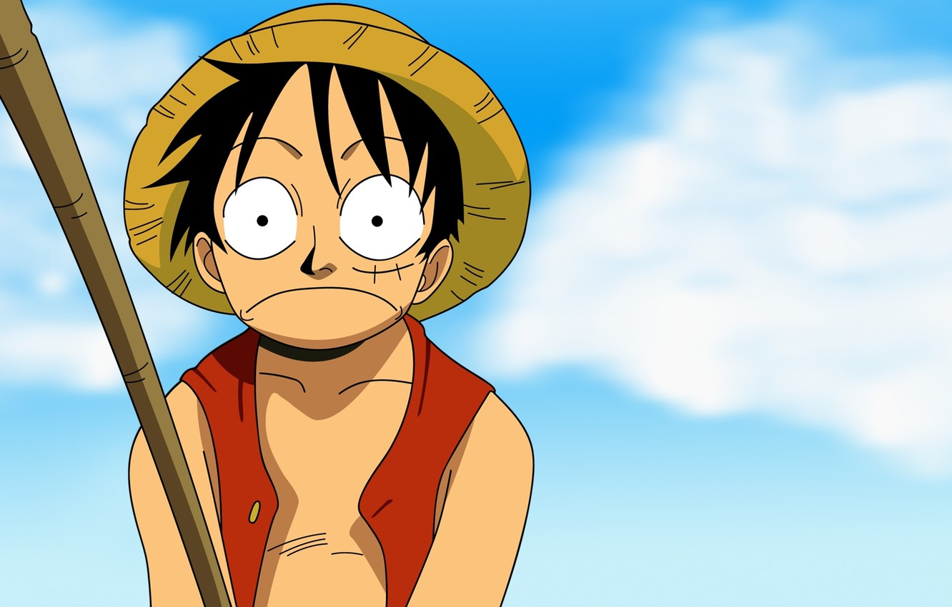 Wallpaper Anime Sky One Piece Luffy Images For Desktop