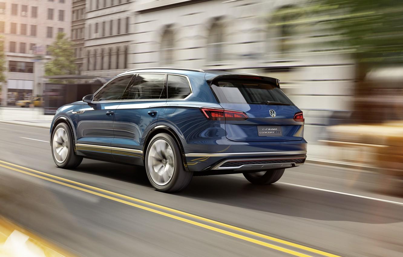 Photo wallpaper Concept, Volkswagen, the concept, Volkswagen, crossover, GTE, T-Prime