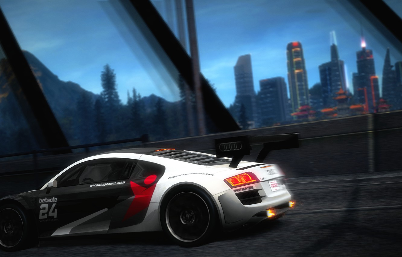 Wallpaper Audi City Photoshop Need For Speed World Images
