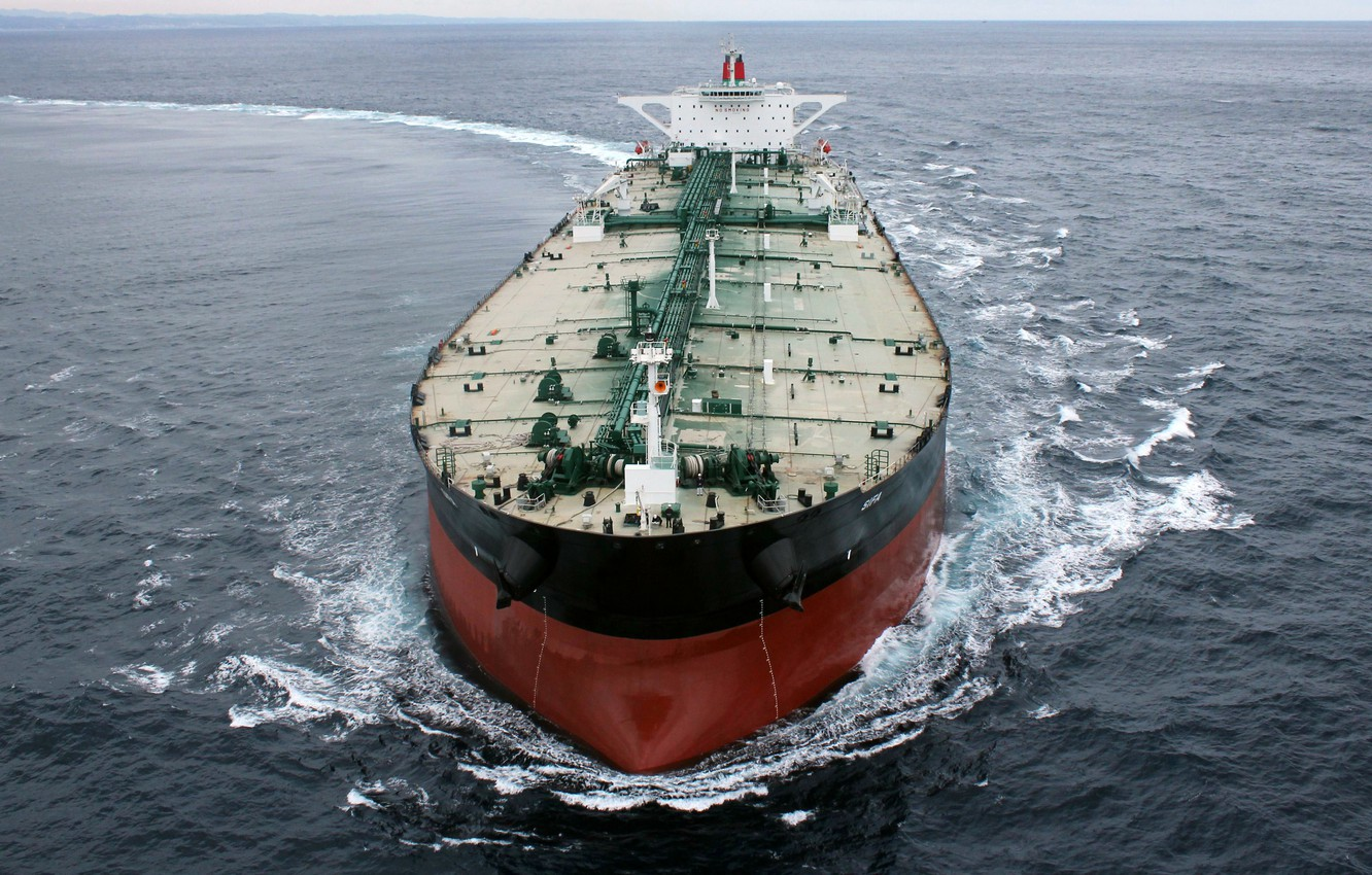 Photo wallpaper Water, Sea, Day, The ship, Tank, The add-in, Cargo, Deck, Circulation, Oman Shipping Company, Tanker, …