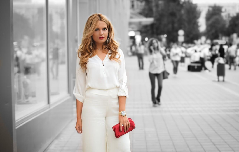 Photo wallpaper summer, look, style, handbag, beauty
