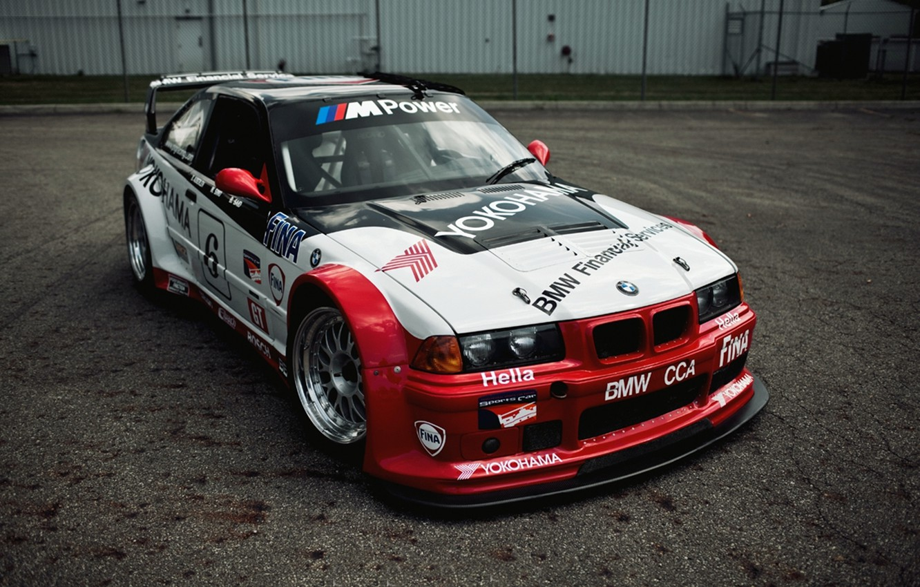 Photo wallpaper BMW, sport, E36, gts-2