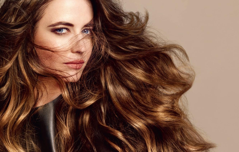 Photo wallpaper hair, portrait, actress, celebrity, curls, Eva Green, Eva Green