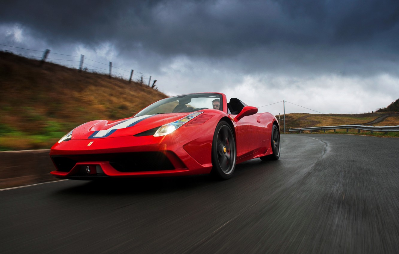 Photo wallpaper Ferrari, Ferrari, 458, 2014, Speciale A