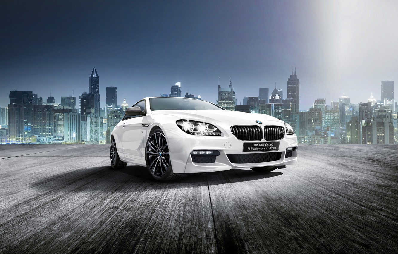 Photo wallpaper BMW, coupe, BMW, Coupe, F13, 2015, 6-Series