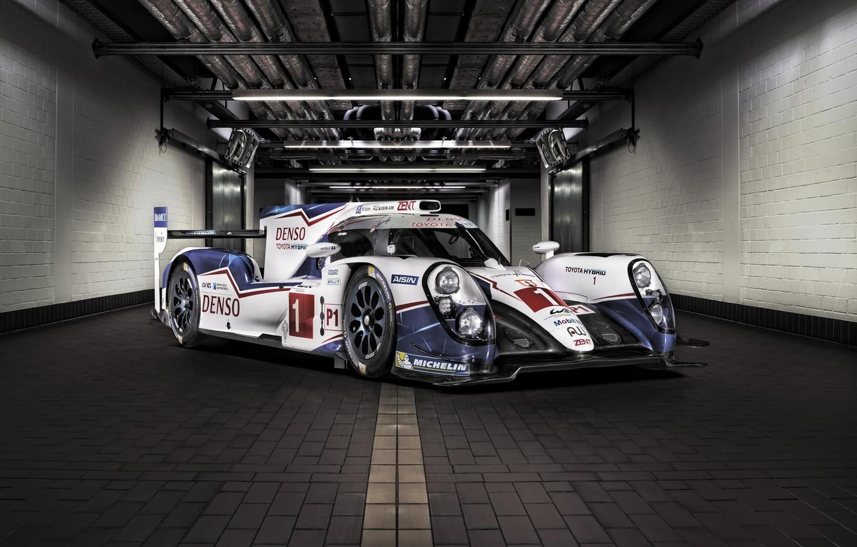 Photo wallpaper sport, supercar, Toyota, Hybrid, Toyota, 2015, TS040