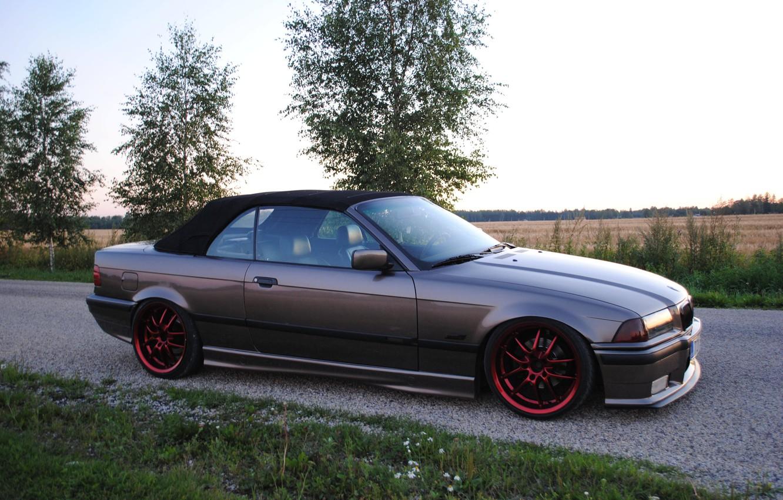 Photo wallpaper BMW, coupe, E36, CABRIO
