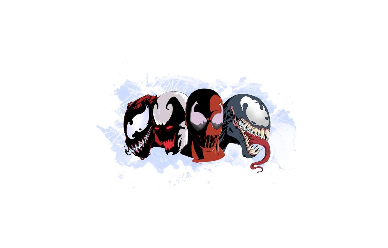 Photo wallpaper marvel, venom, carnage, venom, symbiote, toxin, carnage, the symbiote, toxin