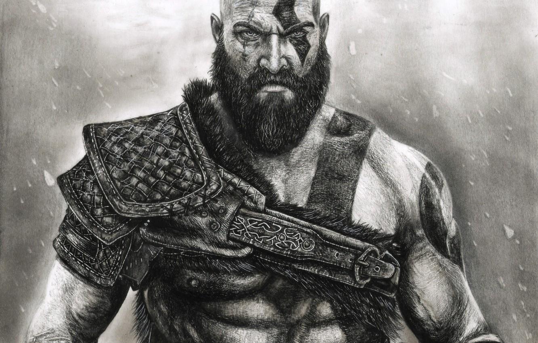 Wallpaper Game Fighter Armor Blizzard Kratos God Of War