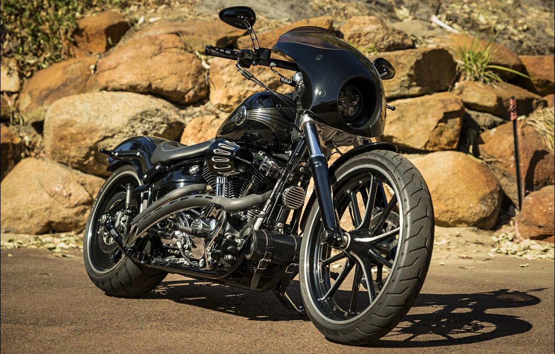 Photo wallpaper design, style, motorcycle, bike