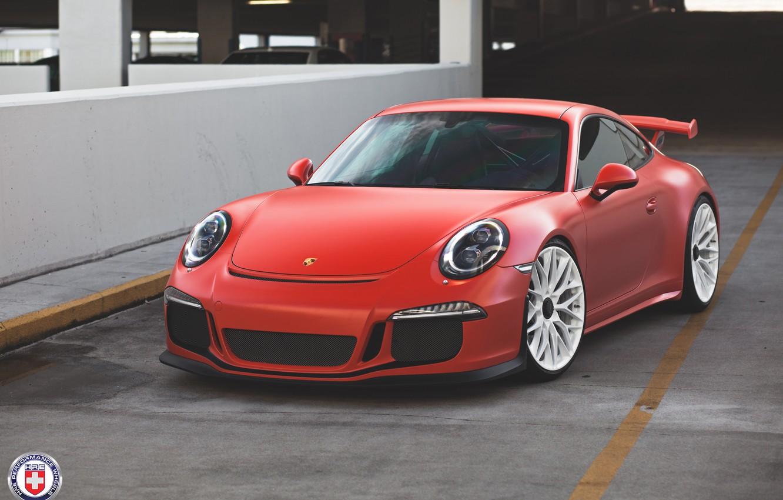 Photo wallpaper Porsche, GT3, 991, HRE, P200
