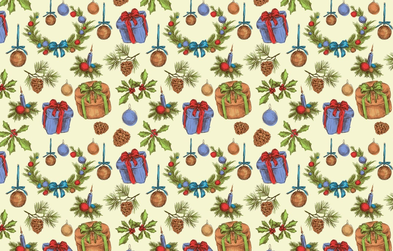 Christmas Textures.Wallpaper Background Holiday Gift Christmas Texture New