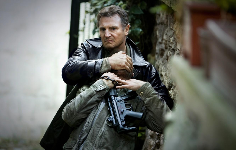 Photo wallpaper Liam Neeson, Hostage, Taken