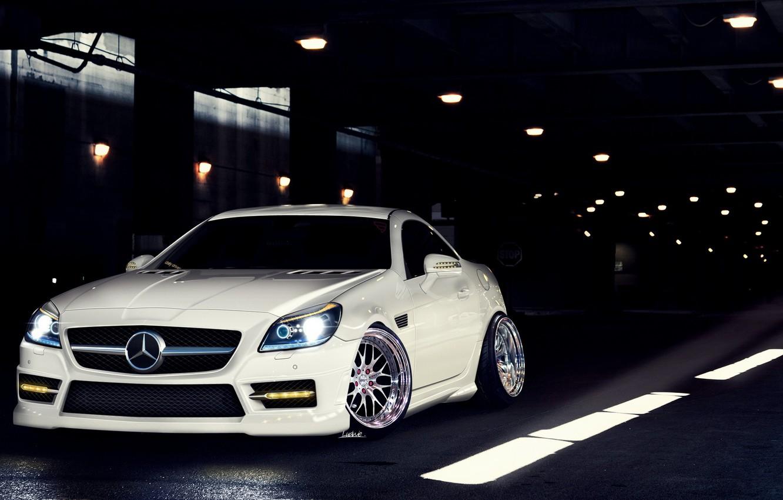 Photo wallpaper tuning, coupe, Mercedes, mercedes slk