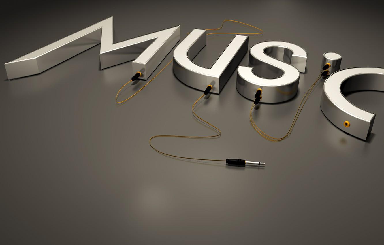 Photo wallpaper headphones, music music
