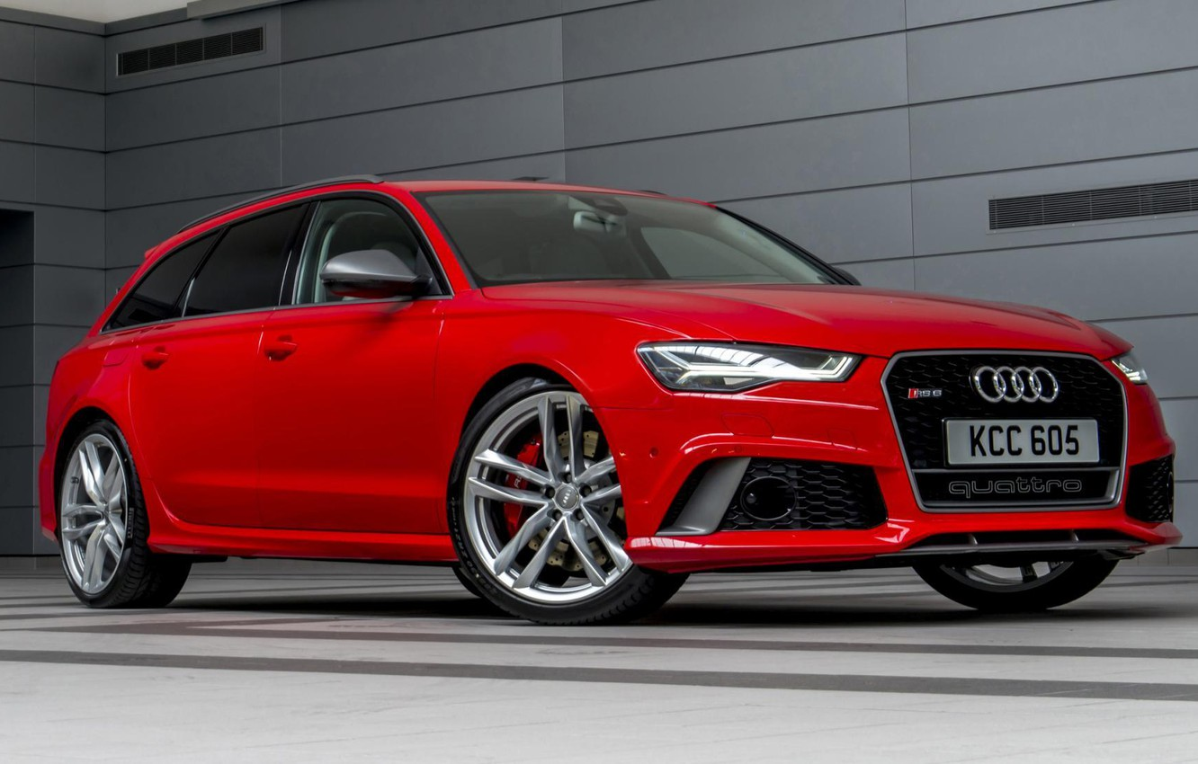 Photo wallpaper Audi, Performance, The front, Before, RS6