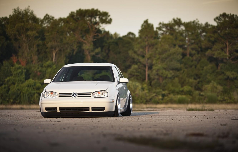Photo wallpaper cars, auto, White, Golf, cars walls, Tuning auto, Volkswagen Golf, Gti, Tunig cars, Volkswagen golf …