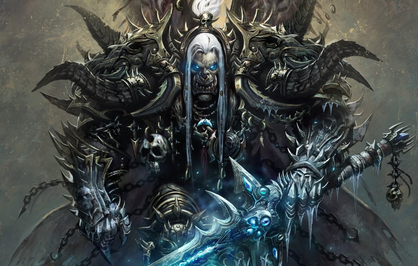 Photo wallpaper armor, World of warcraft, Orc, wow