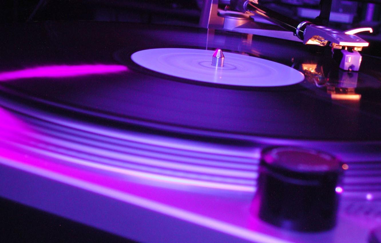 Photo wallpaper music, record, record