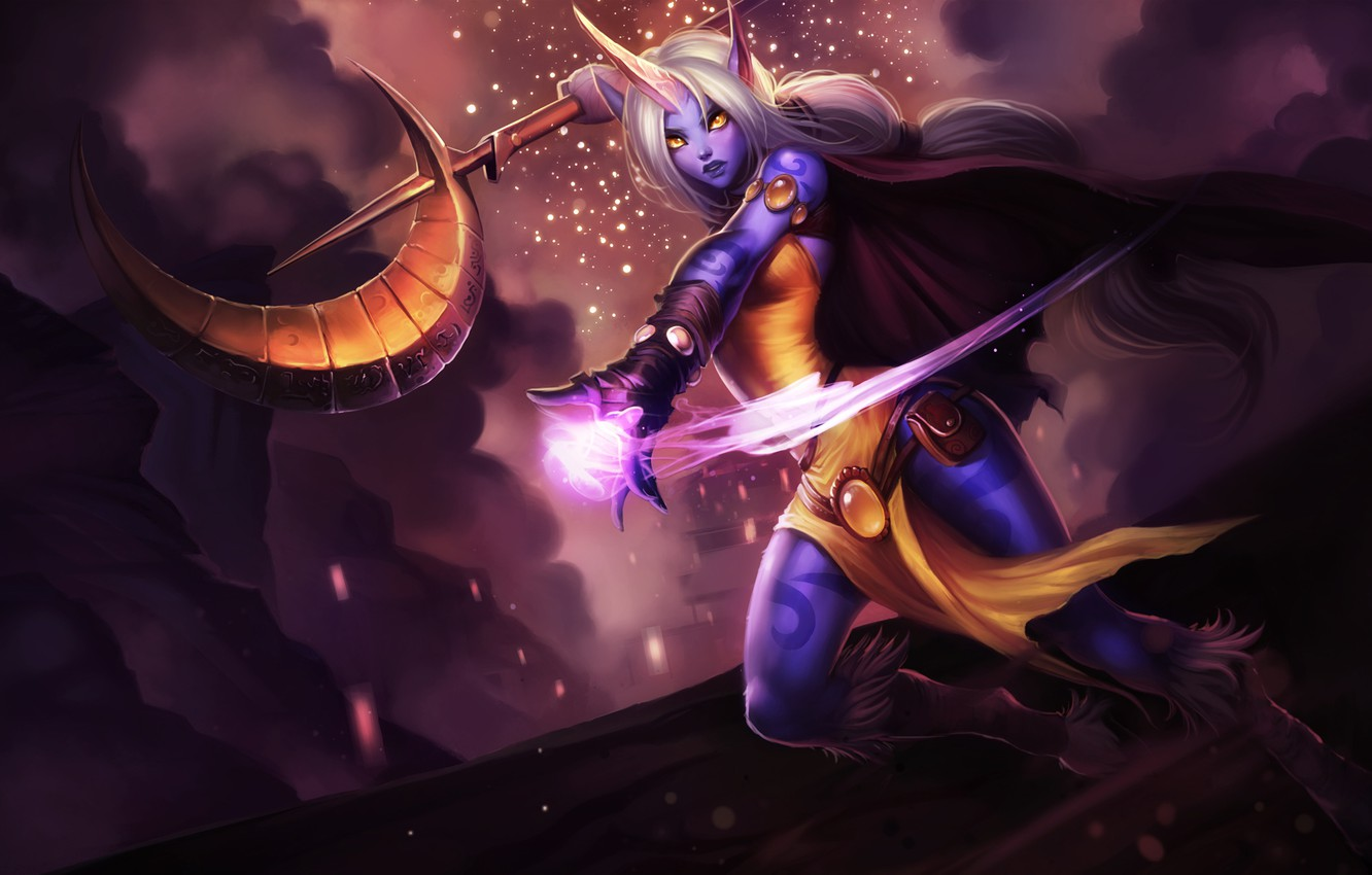 Wallpaper League of Legends, Support, Sorak, League Of