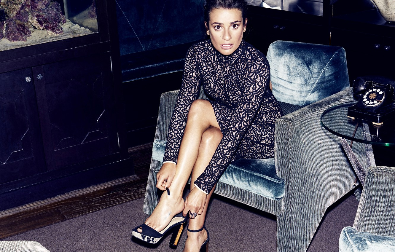 Photo wallpaper actress, brunette, Lea Michele