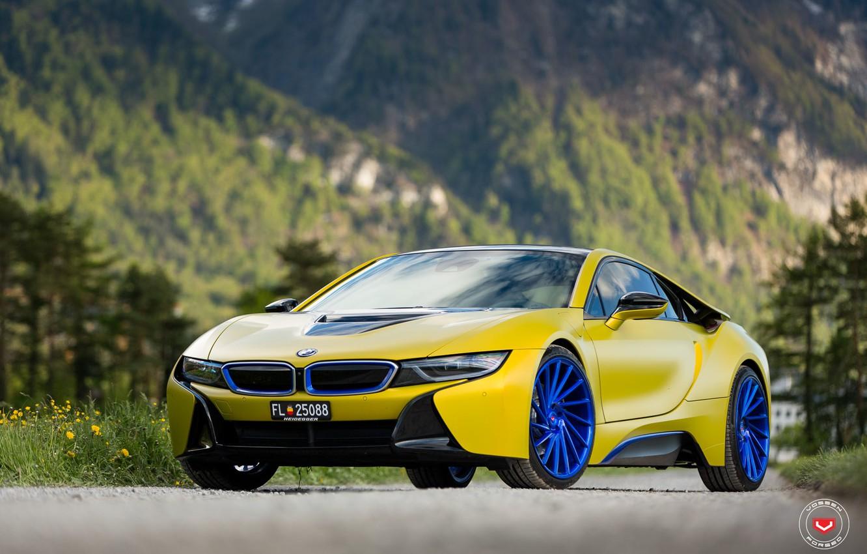 Photo wallpaper BMW, Forged, Vossen, Precision Series