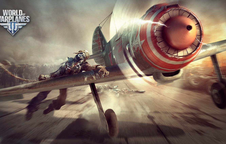 Обои wargaming.net, wowp, истребитель, рендер, Самолёт, World of warplanes. Игры foto 14