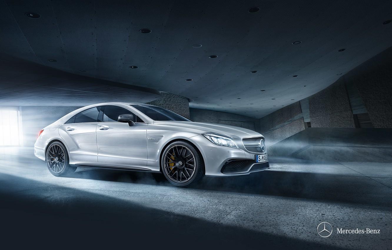 Photo wallpaper Mercedes-Benz, Mercedes, C218, 2014, cls-class